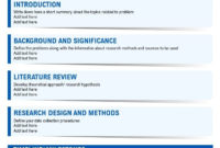 One Page History Research Project Proposal Sample With Regard To One Page Project Proposal Template