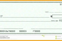 Oversized Check Template Free Of Big Checks Presentation Intended For Presentation Check Template