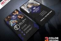Photographer Business Card Template Psd Download Psd With Free Business Card Templates For Photographers
