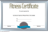 Physical Fitness Certificate Template 7 Award Ideas Free Intended For 10 Sportsmanship Certificate Templates Free