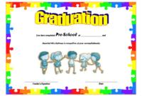 Preschool Graduation Certificate Free Printable 10 Designs Regarding Awesome 10 Kindergarten Graduation Certificates To Print Free