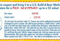 Printable Build A Bear Certificate Printabletemplates Regarding Best Build A Bear Birth Certificate Template
