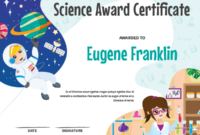 Printable Elementary Science Award Certificate Template With Regard To Quality Science Award Certificate Templates