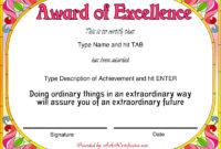 Professional Award Certificate Template Inside Professional Award Certificate Template