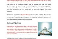 Retail Fashion Store Business Plan Template Physical In Boutique Business Plan Template