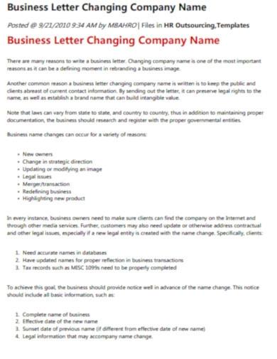 Sample Change Of Address Letter For Business For Your Within Business Change Of Address Template