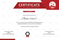 Soccer Achievement Certificate Design Template In Psd Word Inside Certificate Of Achievement Template Word