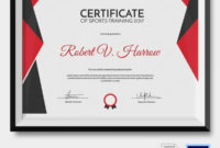 Sports Certificate Template 6 Word Psd Format Download Regarding Quality 10 Sportsmanship Certificate Templates Free