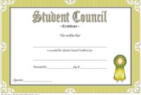 Student Council Certificate Template 8 Professional Ideas With Regard To Student Leadership Certificate Template Ideas