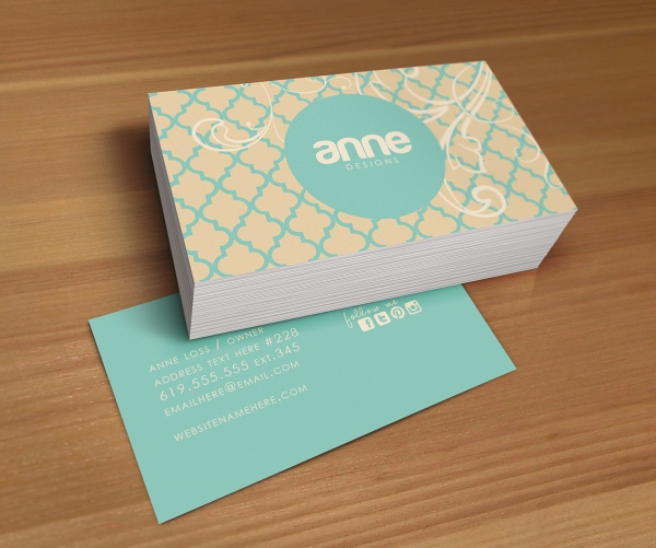 Two Sided Business Cards Emmamcintyrephotography Intended For 2 Sided Business Card Template Word