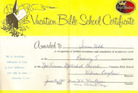 Uibles A Family Blog June 2013 Within Quality Printable Vbs Certificates Free
