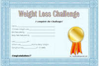 Weight Loss Certificate Template Free 8 New Designs Intended For Free Bake Off Certificate Templates
