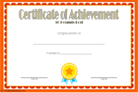 Weight Loss Certificate Template Free 8 New Designs Throughout Bake Off Certificate Templates
