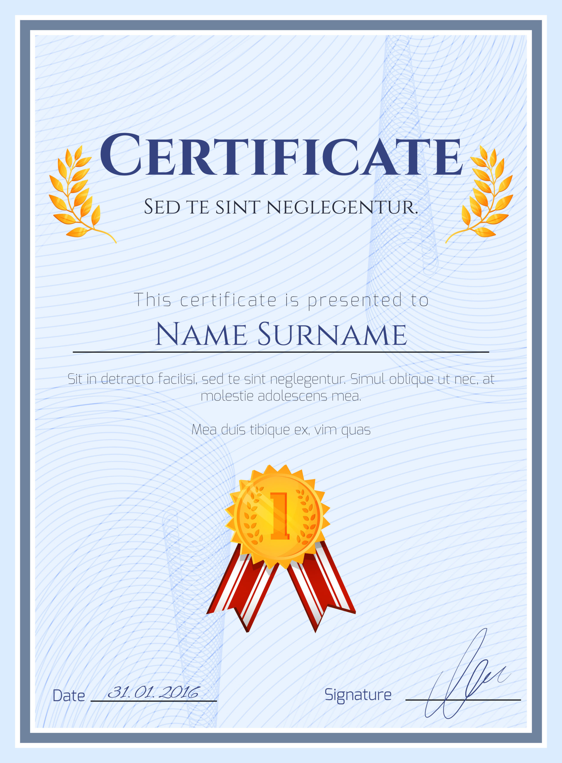 Winner Certificate With Seal Download Free Vectors Within 10 Certificate Of Championship Template Designs Free