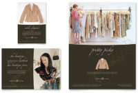 Women'S Clothing Store Flyer Ad Template Design Intended For Business Attire For Women Template